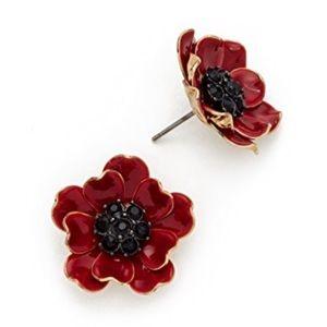 kate spade Jewelry - KATE SPADE • Precious Poppies Earrings